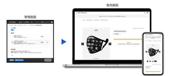 sitateru CLOUD 販売支援のEC販売画面/管理画面