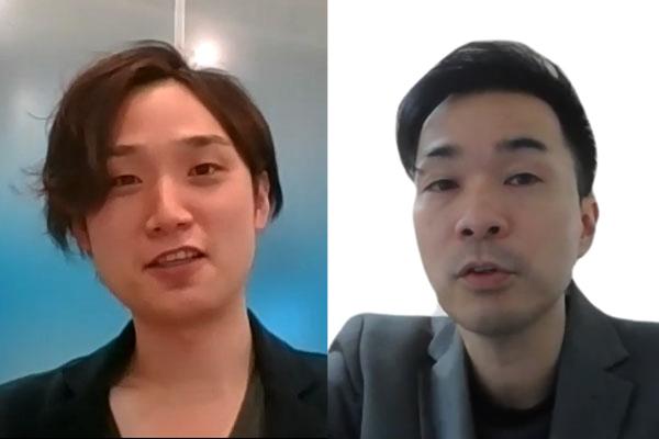(左)クレディセゾン デジタルサービス部 西川 忠亨氏(右)GMOメディア コンテンツ事業部 マネージャー 大村 将也氏