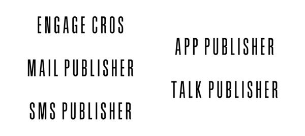 刷新された製品ロゴ