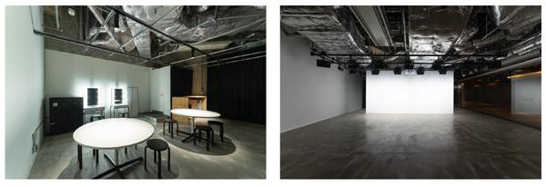 控室・イベントスペース