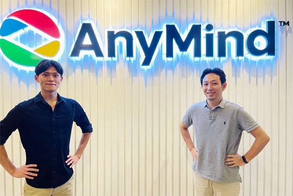 AnyMind Group CFO 大川敬三氏/AnyMind Group Manager, Corporate planning 増田隆宏氏