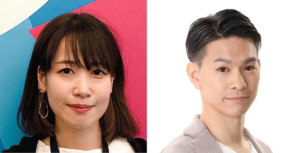 (左)Johnson & Johnson Vision, Brand & Digital Marketing, Marketing Specialist 平井真侑氏(右)Facebook Japan クライアントパートナーマネージャー 大島恵介氏