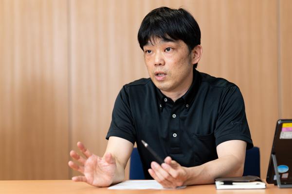 メニコン デジタル販売戦略部 部長 平田浩二氏