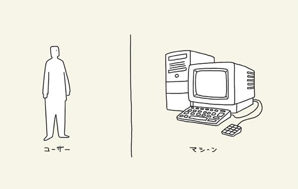 人と機械の違い