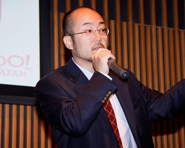 ヤフー株式会社 マーケティングコミュニケーションズ マネージャーの河田顕治氏