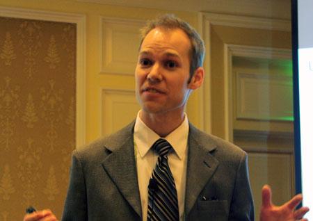 アドビシステムズ オムニチュアビジネスユニット マーケティングマネージャー ウェス・ファンク氏